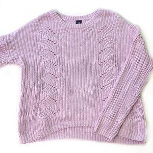 Gap • Chunky Lavender Sweater